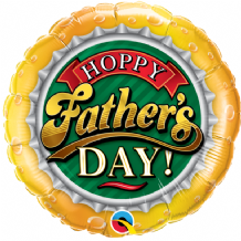 "Hoppy Fathers Day Foil Balloon (18"") 1pc"
